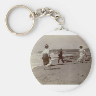 LIFE IS A BEACH MAGNET BASIC ROUND BUTTON KEYCHAIN