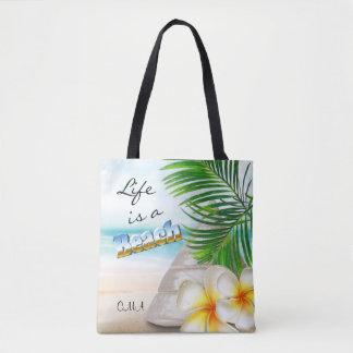 Life is a Beach - Tropical Tote Bag