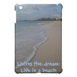 Life is a Beach with Surf and Sand iPad Mini Cases