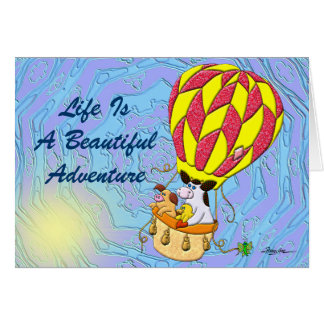 Life Is A Beautiful Adventure Card
