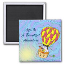 Life Is A Beautiful Adventure Magnet