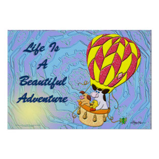 Life Is A Beautiful Adventure Poster