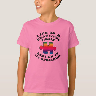 Life Is a Beautiful Puzzle Autism Shirt