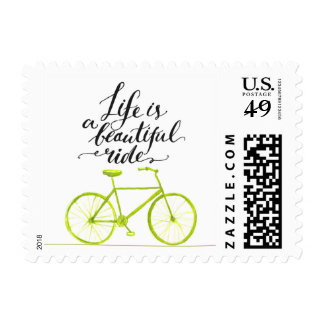 Life Is A Beautiful Ride 2 Postage