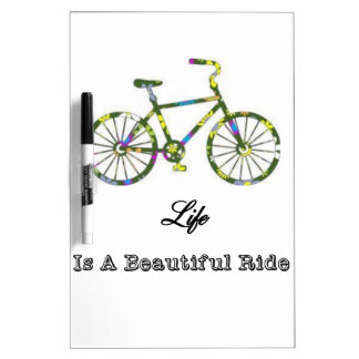 Life Is A Beautiful Ride Dry-Erase Board