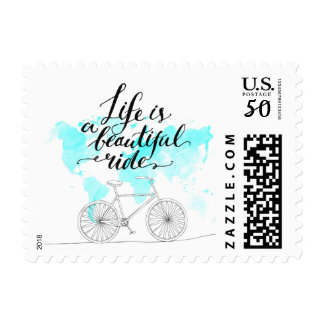 Life Is A Beautiful Ride. Postage