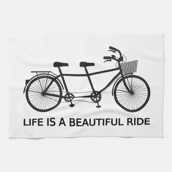 tandem bicycle towel