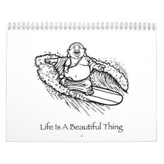 Life Is A Beautiful Thing Buddha 2008 Calendar