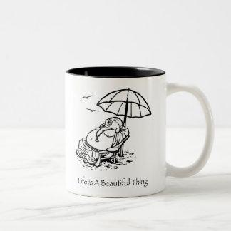 Life Is A Beautiful Thing Buddha Coffee Mug