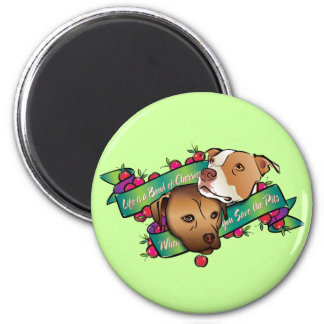 Life is a Bowl of Cherries... 2 Inch Round Magnet