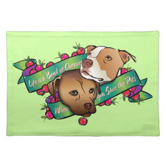 Life is a Bowl of Cherries... Cloth Placemat