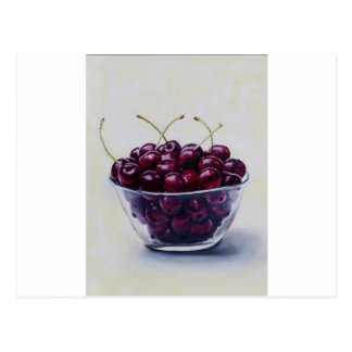 Life is a Bowl of Cherries Postcard