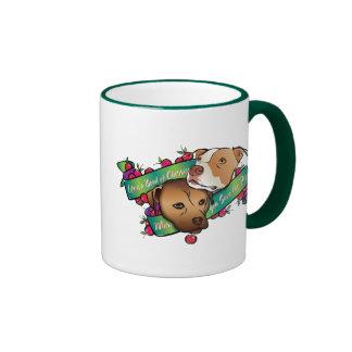 Life is a Bowl of Cherries... Ringer Coffee Mug