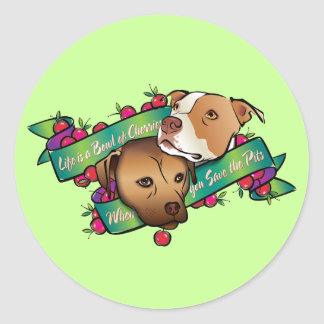 Life is a Bowl of Cherries... Sticker