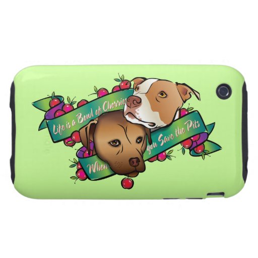 Life is a Bowl of Cherries... Tough iPhone 3 Case