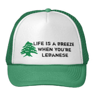 Life is a breeze Lebanese hat
