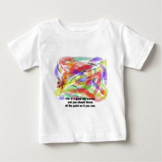 Life is a Canvas Baby T-Shirt
