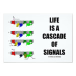 Life Is A Cascade Of Signals (Signal Transduction) Invites