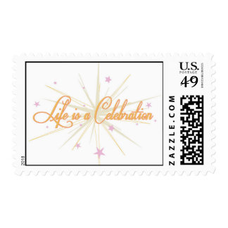 Life is a Celebration by Chic Socials Stamp