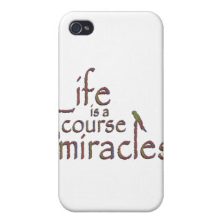 Life is a course in miracles iPhone 4 covers