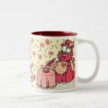 Life is a cup of tea  Two-Tone coffee mug