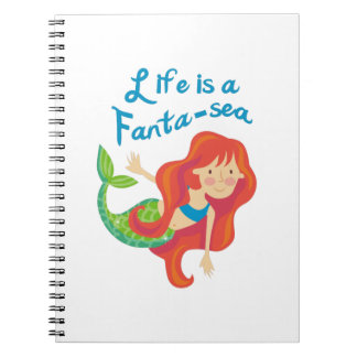 Life Is A Fanta Sea Spiral Notebook