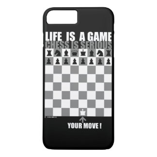 Life is a game, chess is serious iPhone 8 plus/7 plus case