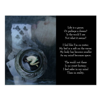 Life is a Game ('Customize it' for vertical) Postcard