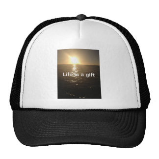 Life is a Gift T Shirt Trucker Hat