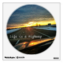 Life is a Highway Wall Decal