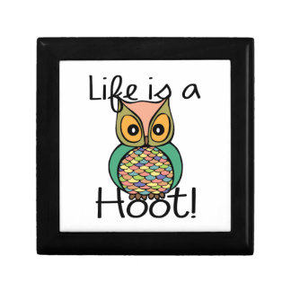 Life is a Hoot Jewelry Box
