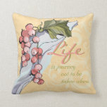 Life is a Journey Accent Pillow