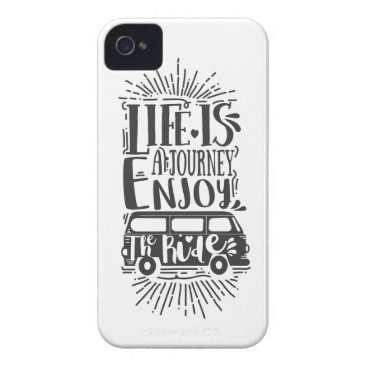 Life is a Journey Case-Mate iPhone 4 Case