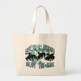 LIFE IS A JOURNEY, ENJOY THE RIDE BAG