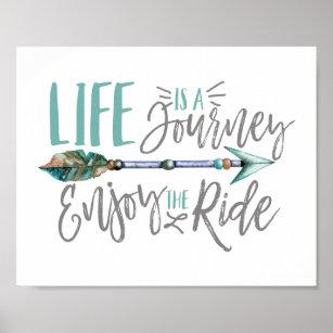 Enjoy The Ride Posters & Photo Prints | Zazzle