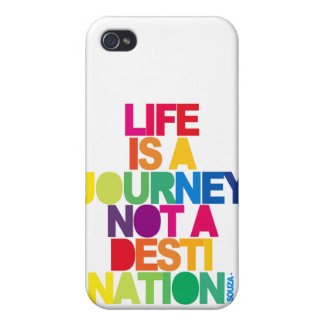 Life Is A Journey iPhone 4 Cases