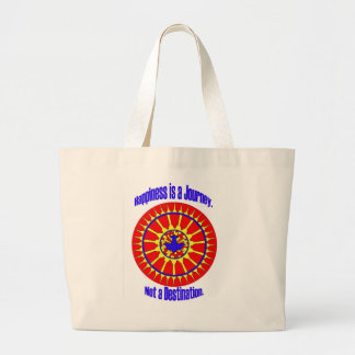 Life is a Journey, not a destination mandala tote