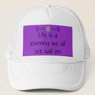 Life is a journey trucker hat