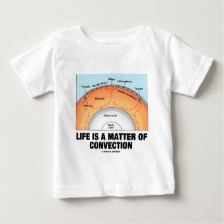 Life Is A Matter Of Convection (Earth Science) Baby T-Shirt
