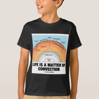 Life Is A Matter Of Convection (Earth Science) T-Shirt