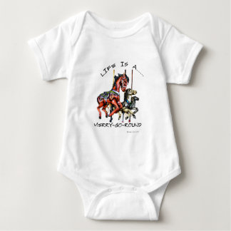 Life Is A Merry-Go-Round Tee Shirt