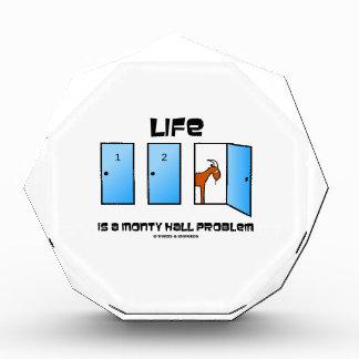 Life Is A Monty Hall Problem Three Doors Goat Award