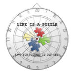 Life Is A Puzzle Have You Figured It Out Yet? Dartboards