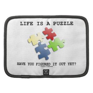 Life Is A Puzzle Have You Figured It Out Yet? Organizers