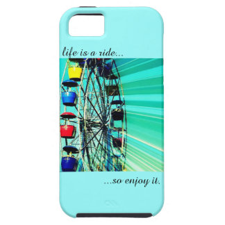 Life is a ride, so enjoy it. PHONECASE IPHONE 5 Case For iPhone 5/5S