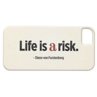 Life is a risk iPhone 5 Case