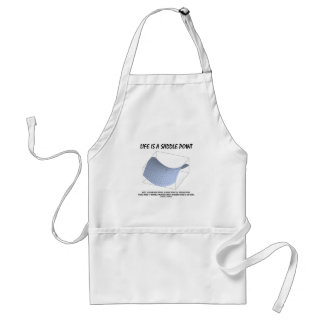 Life Is A Saddle Point (Math & Geometry) Aprons
