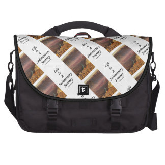 Life Is A Sedimentary Journey (Grand Canyon) Laptop Messenger Bag