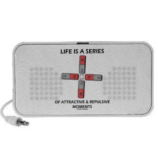 Life Is A Series Of Attractive & Repulsive Moments Travel Speakers