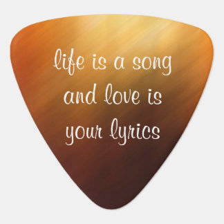 Life Is A Song Guitar Picks Pick